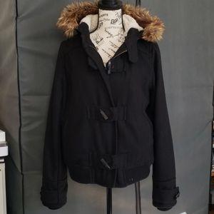 Delia's short pea jacket